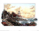 Sunset Cove Lighthouse Prints