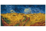 Wheatfield with Crows, c.1890 Art by Vincent van Gogh
