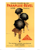 Parapluie Revel Prints by Leonetto Cappiello