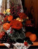 Crystal Vase & Fruit Posters