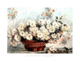 Chrysanthemes Posters by Claude Monet