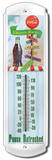 Coca Cola Wherever You Go Indoor/Outdoor Thermometer Tin Sign
