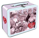 I Love Lucy Retro Vintage Metal Lunchbox Lunch Box