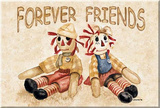 Raggedy Ann Andy Forever Friends Magnet Magnet