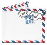 Air Mail Par Avion Tyvek Mighty Wallet - Wallet