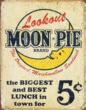 Moon Pie Best Lunch Tin Sign