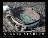 New York Giants Old Meadowlands Stadium Sports Plakater av Brad Geller