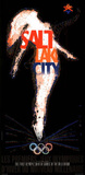 Salt Lake City 2002 Olympic Figure Skater Posters by Primo Angeli