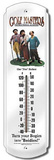 Three Stooges Golfmasters Indoor/Outdoor Weather Thermometer Tin Sign