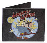 Mighty Mouse Black Tyvek Mighty Wallet Wallet