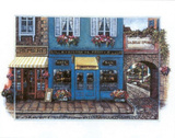 Le Bistro Paris France Prints