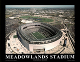 New York Giants New York Jets New Stadium Inaugural Season Posters av Mike Smith