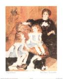 Twin Sisters Jumelles Print by Pierre-Auguste Renoir