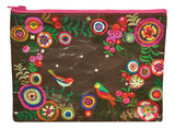 Pretty Print Zipper Pouch Zipper Pouch