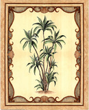 Bordered Palm Tree Prints