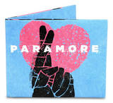 Paramore Cross Them Tight Tyvek Mighty Wallet Wallet