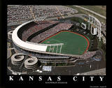 Kansas City Royals Kauffman Stadium Sports Prints by Brad Geller