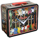 Fender Guitars Custom Shop Retro Vintage Metal Lunchbox Lunch Box