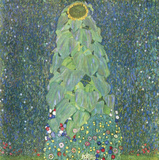 The Sunflower c.1906-1907 Print by Gustav Klimt