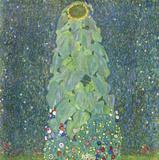 The Sunflower c.1906-1907 Print by Gustav Klimt