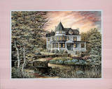Colonial House (Landscape) Posters