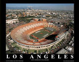 USC Trojans Los Angeles Coliseum NCAA Sports Posters by Mike Smith