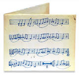 Music Sheet Tyvek Mighty Wallet Wallet