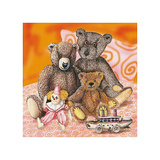 Kids Teddy Bears IV Print