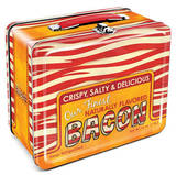Bacon Retro Vintage Metal Lunchbox Lunch Box
