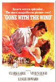 Gone with the Wind Movie Rhett Butler and Scarlett O&#39;Hara Embrace Magnet Magnet
