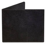 Black Leather Printed Tyvek Mighty Wallet Wallet
