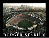 Los Angeles Dodgers Dodger Stadium Sports Art by Mike Smith