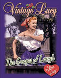 I Love Lucy Grapes of Laugh TV Plaque en m&#233;tal