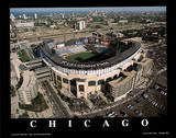 Chicago White Sox U.S. Cellular Field Sports Poster by Mike Smith