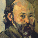 Self-Portrait, c.1879-1882 (detail) Posters by Paul Cézanne