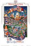 U.S. Olympic CenTOONial Photographie par Melanie Taylor Kent