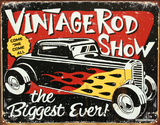 Schoenberg Rod Show Car Tin Sign
