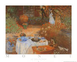 Le Dejeuner The Lunch Print by Claude Monet
