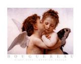 Det første kys Poster af William Adolphe Bouguereau