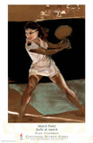 Match Point Tennis Atlanta, c.1996 Olympics Offiial Sports Posters by Dian R. Friedman