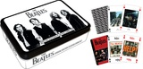 The Beatles Black and White Playing Card Tin Set Playing Cards