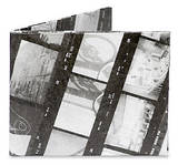 35mm B&W Film Negatives Print Mighty Wallet Wallet