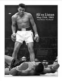 Muhammad Ali vs Sonny Liston Tin Sign