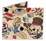 Tattoo Tyvek Mighty Wallet Wallet
