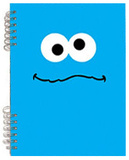 Sesame Street Cookie Monster Lenticular Spiral Notebook Journal
