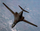 B-1B Bomber (In Air) Prints