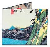 Utagawa Hiroshige Tyvek Mighty Wallet Geldbörse