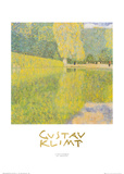 The Schonbrunn Park Prints by Gustav Klimt