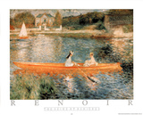 Seine at Asnieres Photo by Pierre-Auguste Renoir