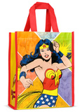 Wonder Woman Small Recycled Shopper Tote Bag